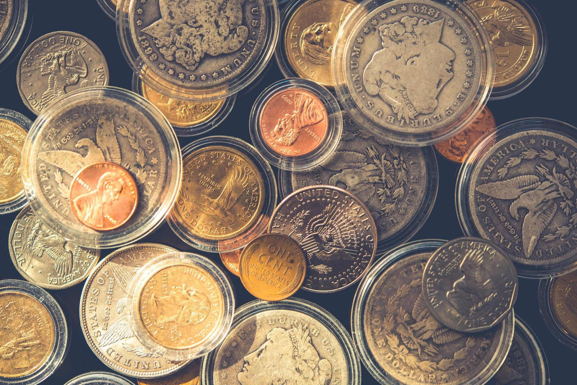 Plenty of Collectible Coins